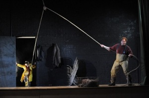 Stuart Skelton as Grimes at Opera Australia - Photo: Branco Gaica