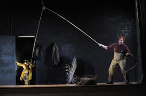 Stuart Skelton as Grimes at Opera Australia - Photo: Branco Gaica