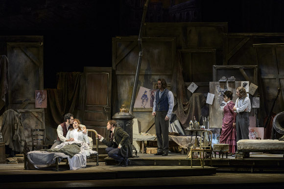 773 - Scene from La Boheme (not Michael Fabiano)