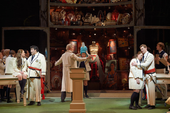 0249 - Scene from Act 1 - Lovers and Don Alfonso