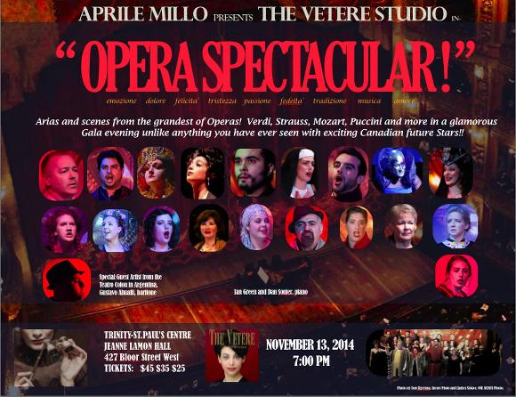 Opera Spectacular! 2014 Toronto