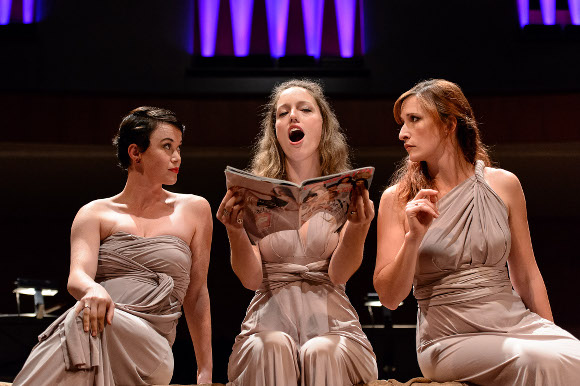 GGS Opera 2015 Berio Folk Songs; photo Stuart Lowe