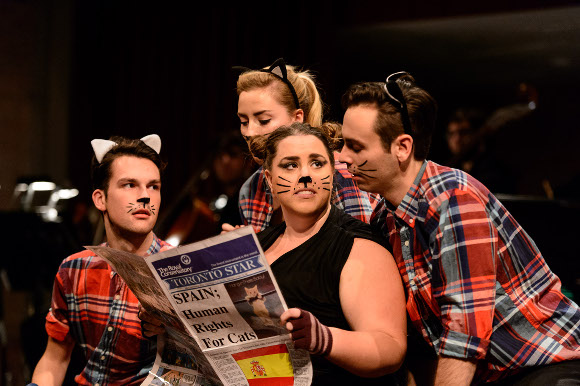 GGS Opera 2015 Puss in Boots; photo Stuart Lowe