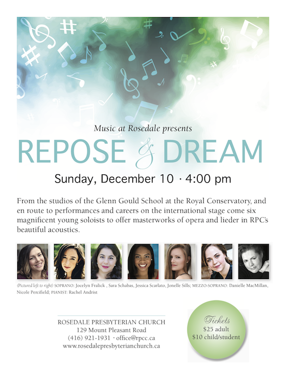 RPC_Music Repose and Dream Poster