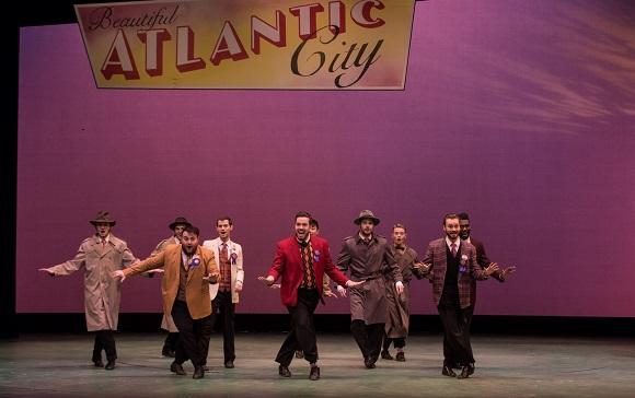 Cairns cast Men's chorus Act 1