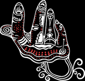 hand-graphic-on-black
