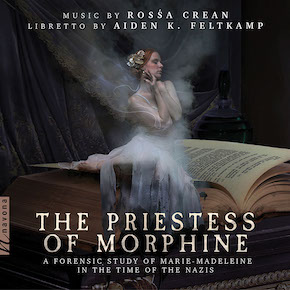 crean, rossa -the priestess of morphine - front cover xs517x517_2x
